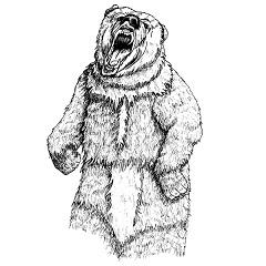 Bear, Cave: Digital Battle Pod #AKC00003
