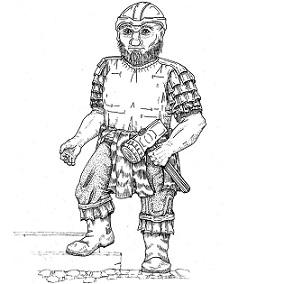 Dwarf, Warrior: Digital Battle Pod #AKC00010