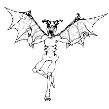 Demon, Flying: Digital Battle Pod #AKC00008