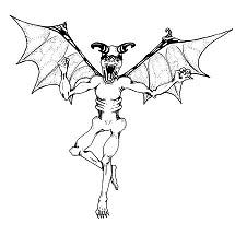 Demon, Flying: Digital Battle Pod #AKC00008