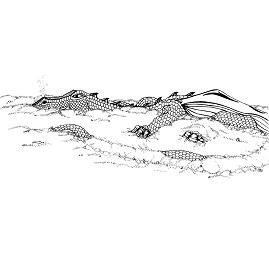 Dragon, Sand: Digital Battle Pod #AKC00009