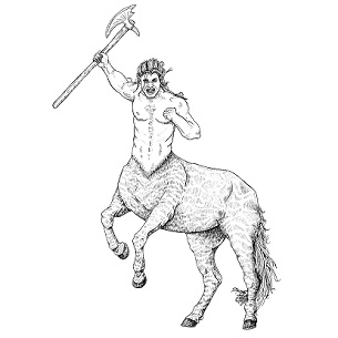 Centaur, Warrior: Digital Battle Pod #AKC00006