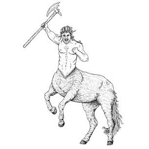 Centaur, Warrior: Digital Battle Pod #AKC00006
