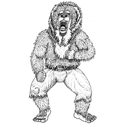 Lycanthrope, Dwarf: Digital Battle Pod #AKC00034